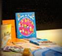 petita mostra de l'exposició de llibres i materials dels Drets dels Infants