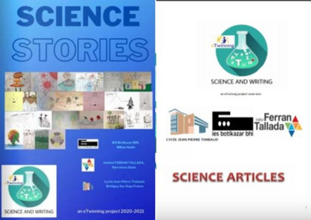 Science and Writing - Projecte eTwinnig 2020-2021